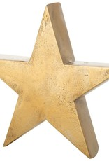 "8"" Bronze Metal Star Tablepiece"