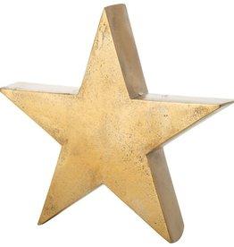 Bronze Metal Star Tablepiece- Large