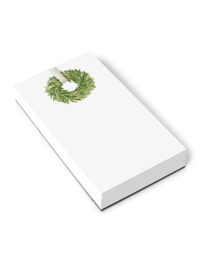 Christmas Wreath Notepad