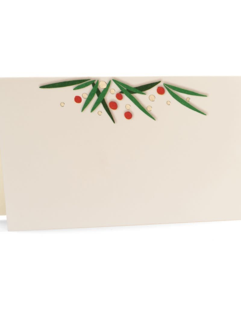 Trim It Holiday Place Card - Set of 10