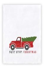 Thirsty Boy Towel - Next Stop, Christmas