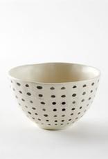 Small Black Polka Dot Bowl