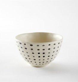 Dot Black Bowl-Small