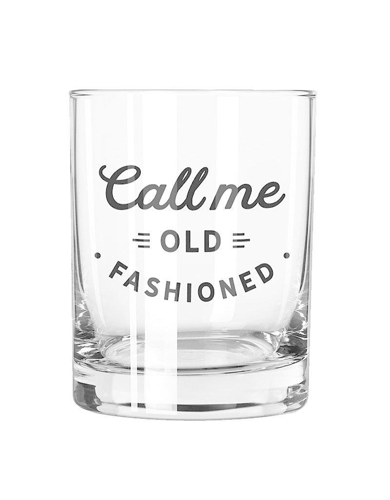 Rocks Bar Glass - Call Me Old Fashioned