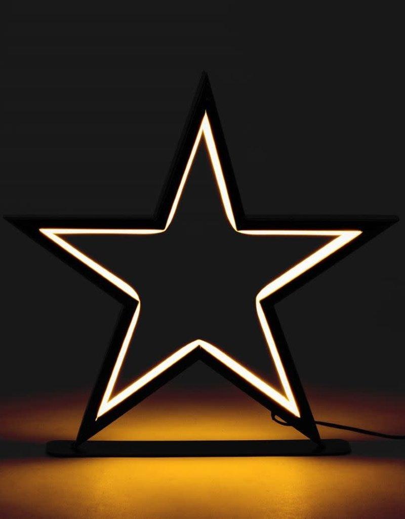 """Medium Star LED Lamp- 12"""""""