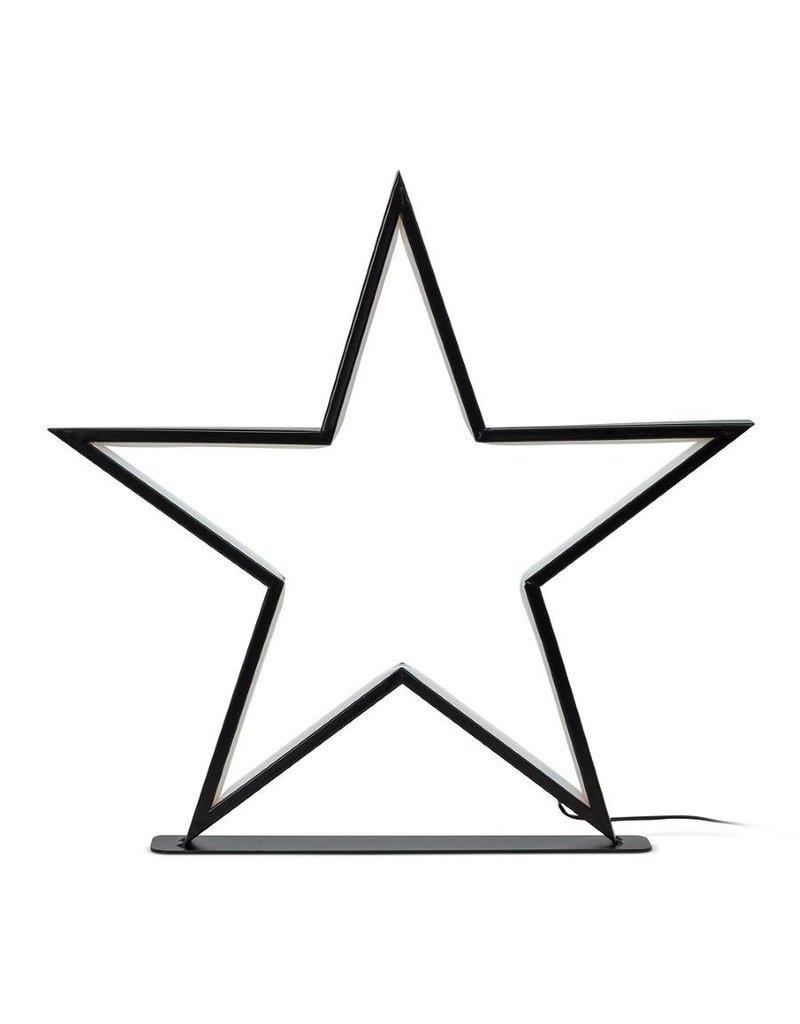 "Large Star LED Lamp- 18"""