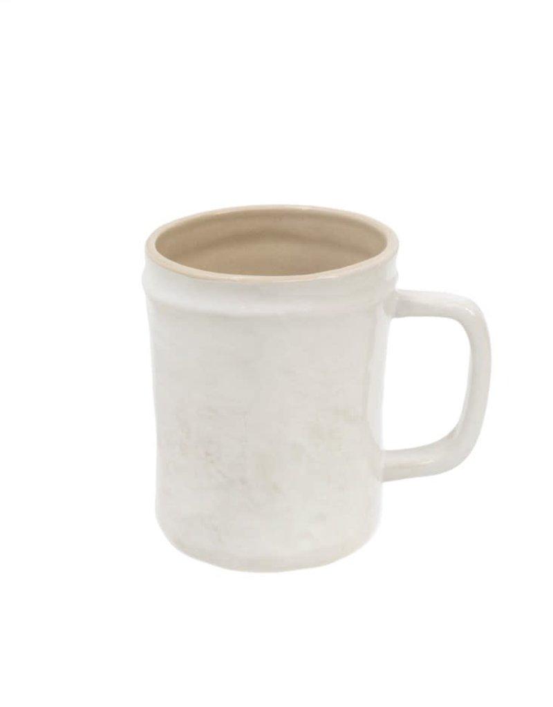 White Highland Stoneware Mug