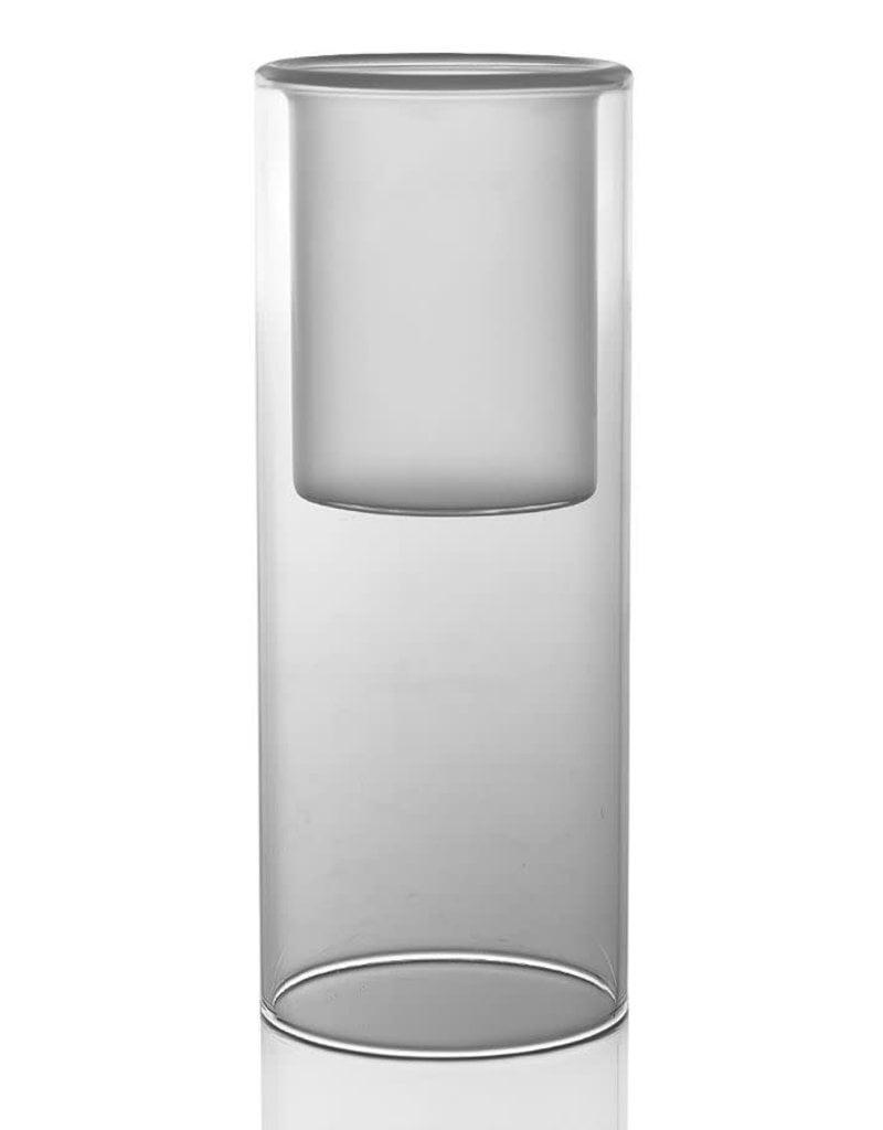 Glass Solstice Candle Votive- Large