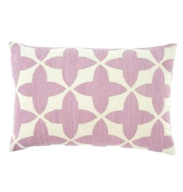 Lilac Mimosa Throw Pillow