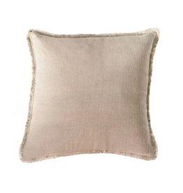 Beige Soft Linen Pillow