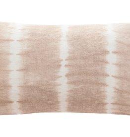 Pink Tie Dye Linen Pillow
