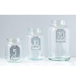 Mason Jar Clear - 10 Liter