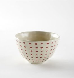 Dot Red Bowl-Small