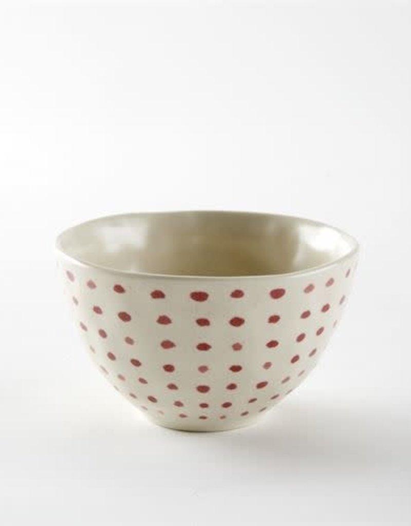 Small Red Polka Dot Bowl