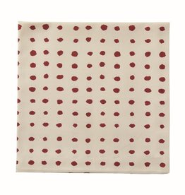 Dot Red Napkin