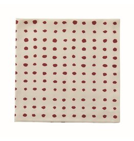 Dot Red Napkin