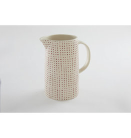 Dot Red Pitcher