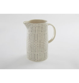 Dot Black Pitcher