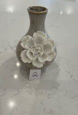 Small Pastel Colored Flower Vases