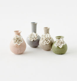 Small Pastel Flower Vases