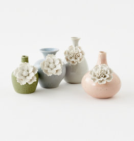 Large Pastel Flower Vases