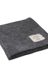 Charcoal Texture Blanket