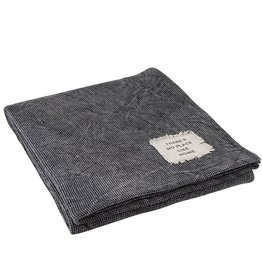 Charcoal Texture Throw