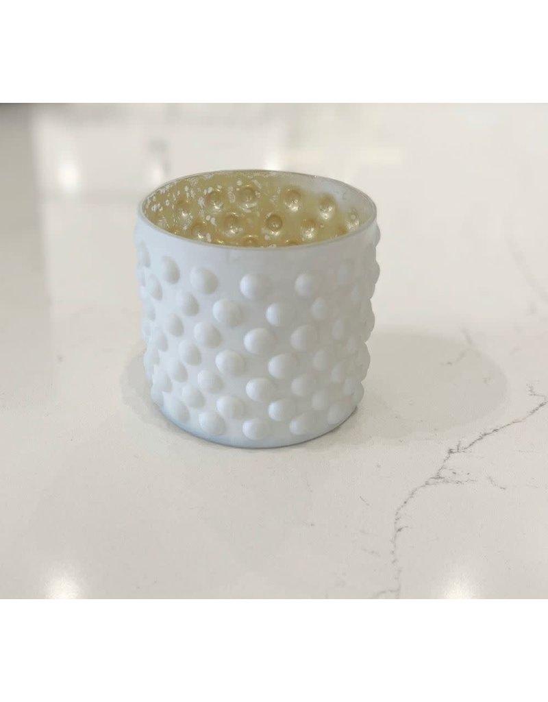 Lyssa Glass Candle Votive Holder - Dots