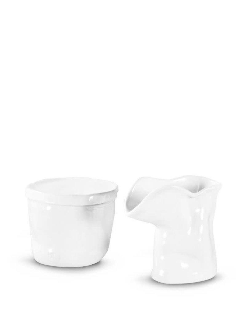 White Sugar & Creamer Serving Set - 225