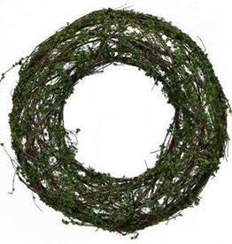 "Green Grapevine Wreath -14"""