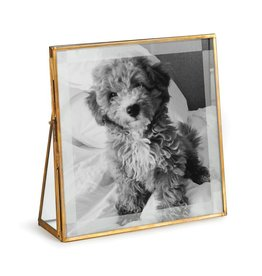 "Antique Brass Photo Frame - 8"""
