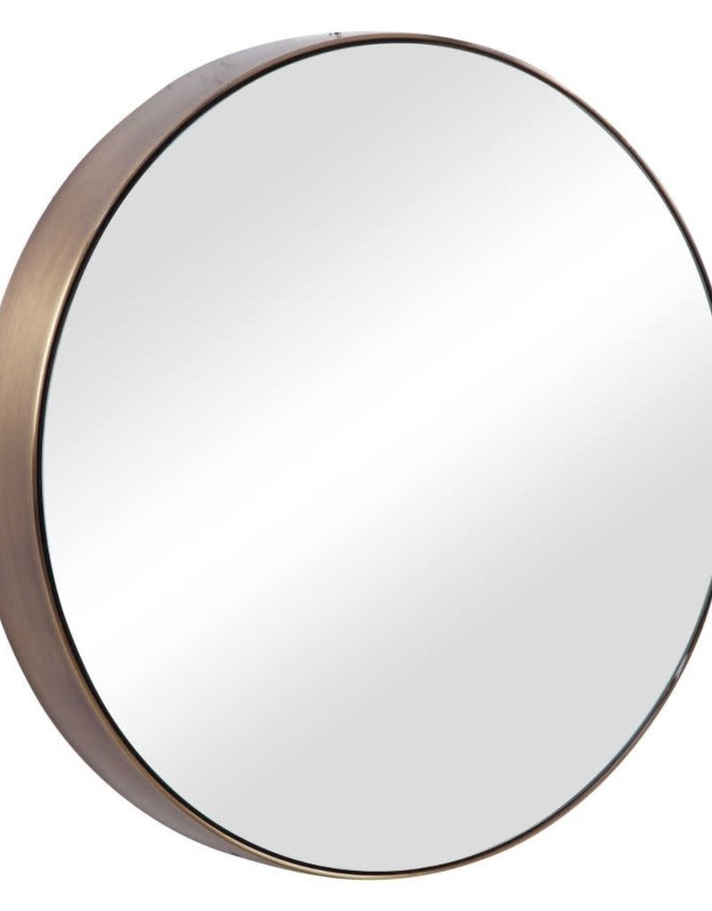 Riley Round Accent Mirror