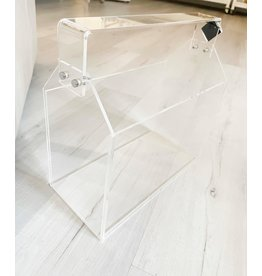 Acrylic Toolbox Magazine Basket
