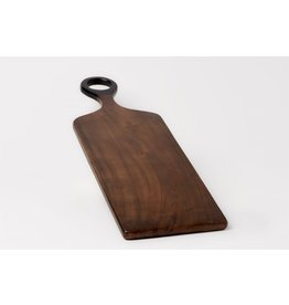 Brown Acacia Wood Cutting Board - Med