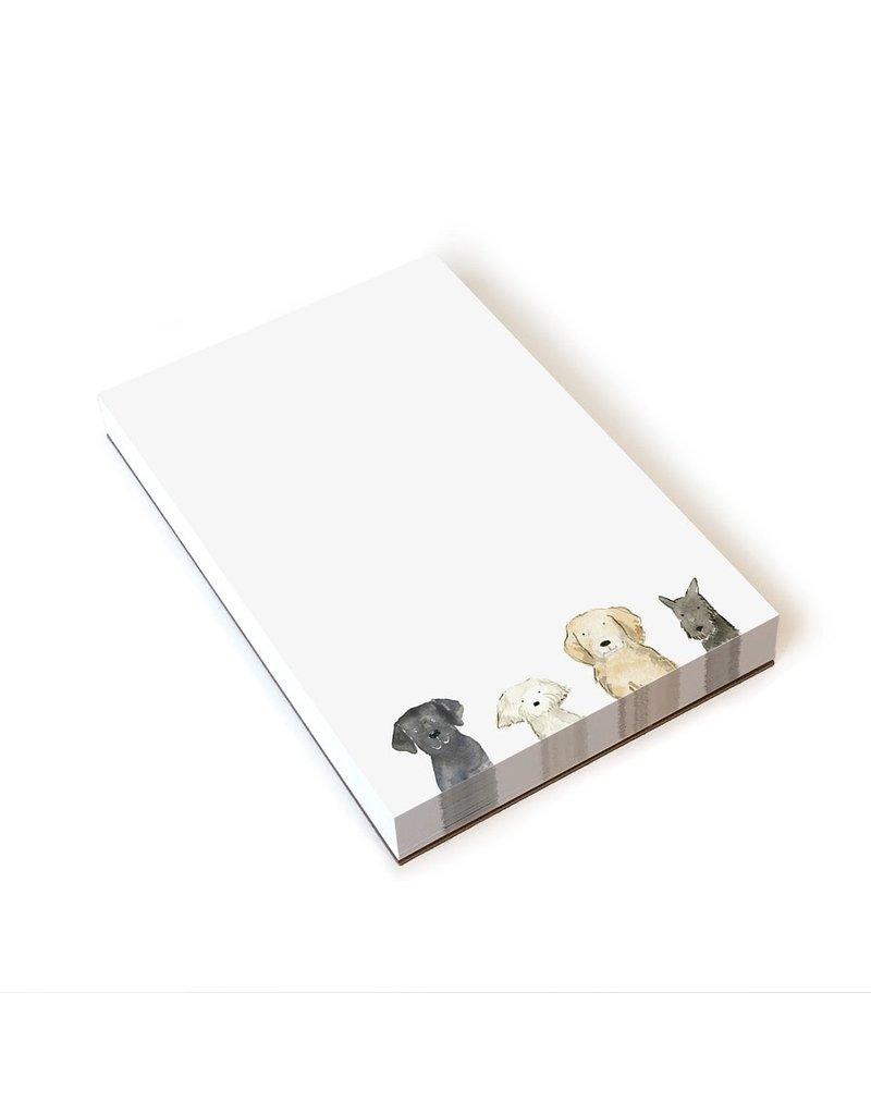 White Dog Days Notepad