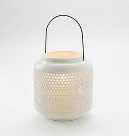 Open Dot-White Lantern