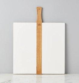 White Square Italian Pizza Board-Large