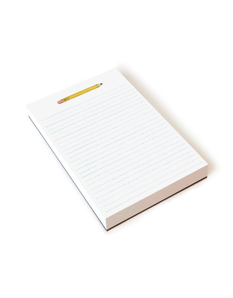 White Pencil Notepad
