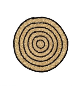Seagrass Placemat- Black