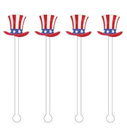 American Top Hat Stir Sticks