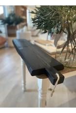 Large Black Brasserie Serving Plank