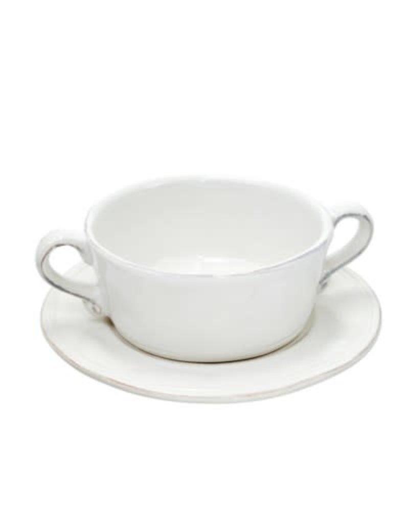 Ceres Soup Bowl & Saucer