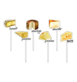 Cheese Please Fromage Acrylic Sticks
