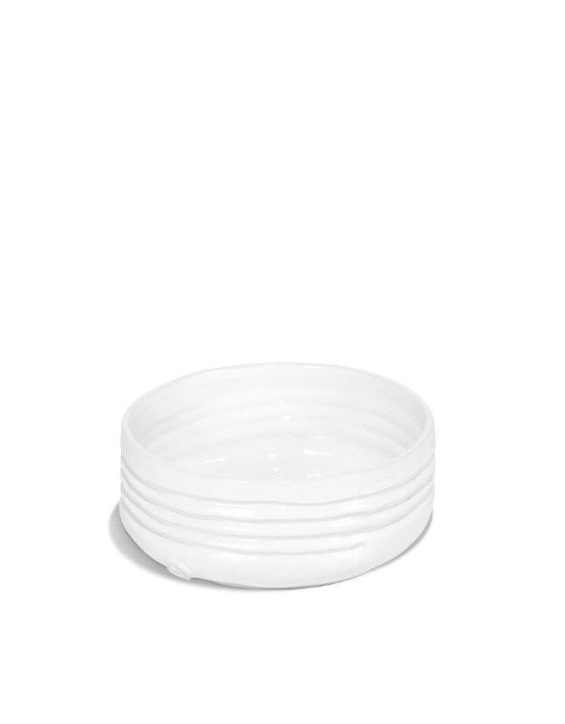 White Ceramic Serving  Bowl - Small