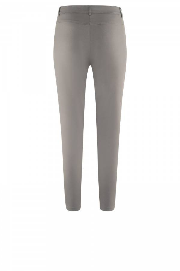 AIRFIELD Stretch Trousers With Zipper On The Hem