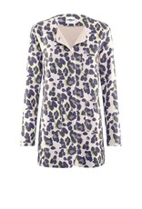 AIRFIELD Coat With Leopard Print