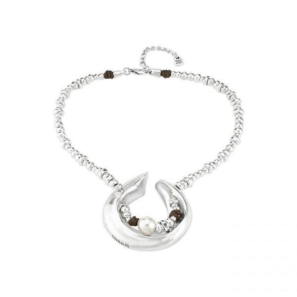 Uno de 50 HALF MOON Necklace