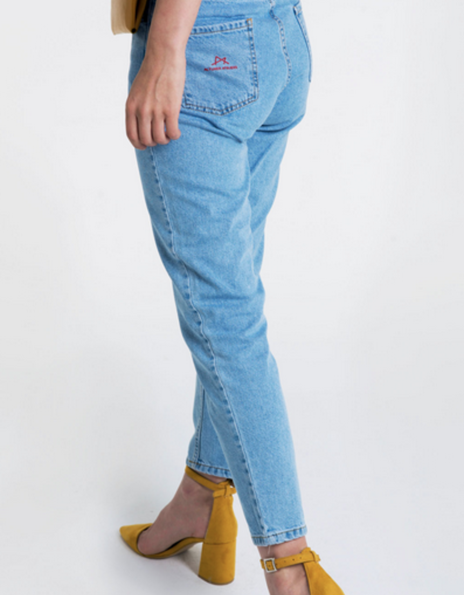 Altuner Aleteris Jeans With Silicone Injection