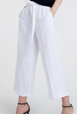Altuner Aleteris Linen Pants With Belt