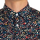 Good Man Brand Slim Fit Floral Print Sport Shirt